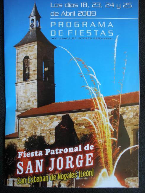 Programa de las fiestas del año 2009